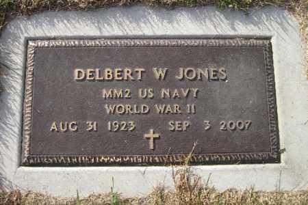 JONES, DELBERT W. - Richland County, North Dakota | DELBERT W. JONES - North Dakota Gravestone Photos