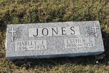 JONES, ESTHER G. - Richland County, North Dakota | ESTHER G. JONES - North Dakota Gravestone Photos