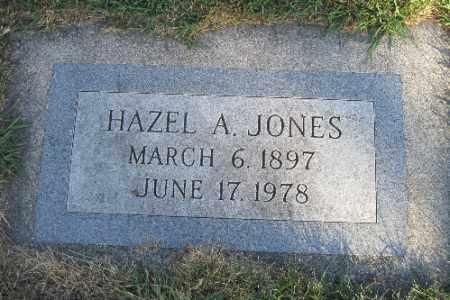 JONES, HAZEL A. - Richland County, North Dakota | HAZEL A. JONES - North Dakota Gravestone Photos