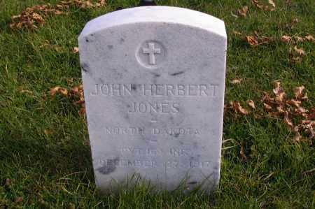 JONES, JOHN HERBERT - Richland County, North Dakota | JOHN HERBERT JONES - North Dakota Gravestone Photos
