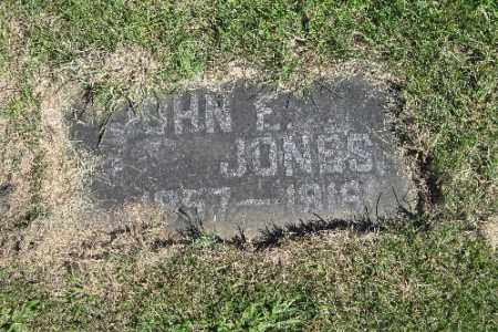 JONES, JOHN E. - Richland County, North Dakota | JOHN E. JONES - North Dakota Gravestone Photos