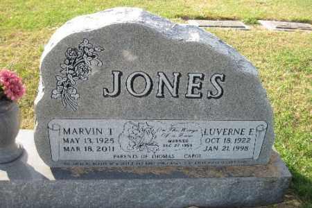 JONES, LUVEFRNE E. - Richland County, North Dakota | LUVEFRNE E. JONES - North Dakota Gravestone Photos