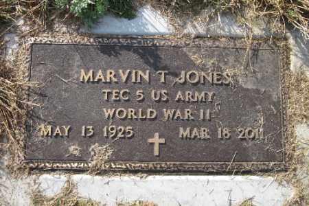 JONES, MARVIN T. - Richland County, North Dakota | MARVIN T. JONES - North Dakota Gravestone Photos