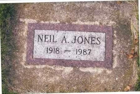 JONES, NEIL A. - Richland County, North Dakota | NEIL A. JONES - North Dakota Gravestone Photos
