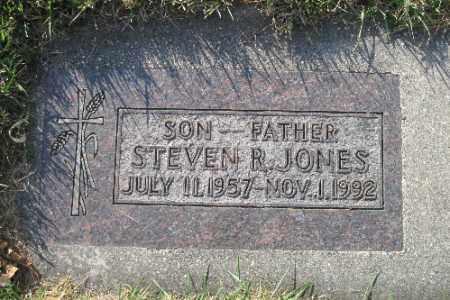 JONES, STEVEN R. - Richland County, North Dakota | STEVEN R. JONES - North Dakota Gravestone Photos