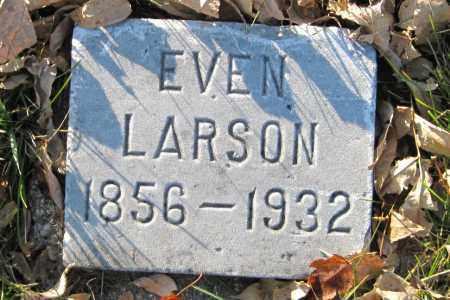 LARSON, EVEN - Richland County, North Dakota | EVEN LARSON - North Dakota Gravestone Photos