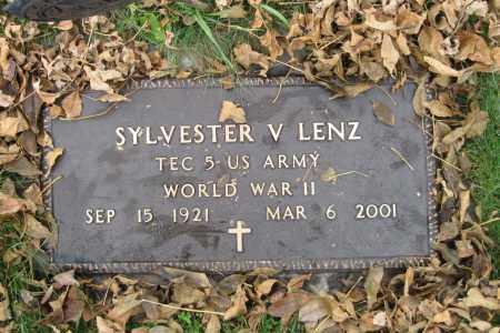 LENZ, SYLVESSTER V. - Richland County, North Dakota | SYLVESSTER V. LENZ - North Dakota Gravestone Photos