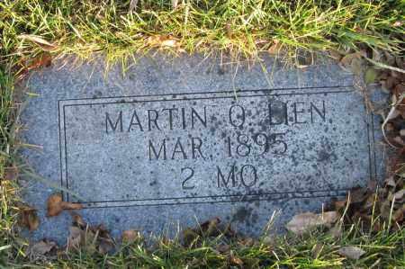 LIEN, MARTIN O. - Richland County, North Dakota | MARTIN O. LIEN - North Dakota Gravestone Photos