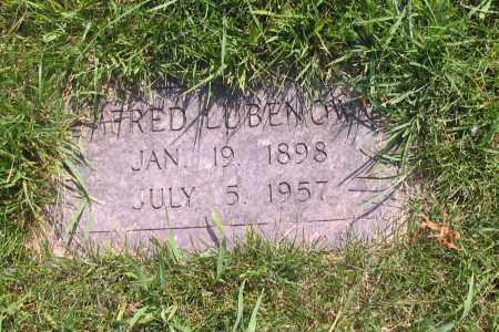 LUBENOW, ALFRED - Richland County, North Dakota | ALFRED LUBENOW - North Dakota Gravestone Photos