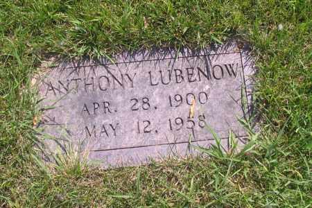 LUBENOW, ANTHONY - Richland County, North Dakota | ANTHONY LUBENOW - North Dakota Gravestone Photos