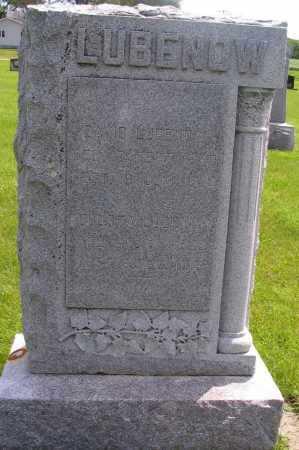 LUBENOW, AUGUSTA - Richland County, North Dakota   AUGUSTA LUBENOW - North Dakota Gravestone Photos