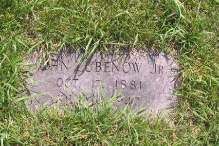 LUBENOW, JOHN, JR. - Richland County, North Dakota | JOHN, JR. LUBENOW - North Dakota Gravestone Photos