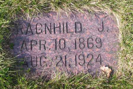 MATHISON, RAGNHILD J. - Richland County, North Dakota | RAGNHILD J. MATHISON - North Dakota Gravestone Photos
