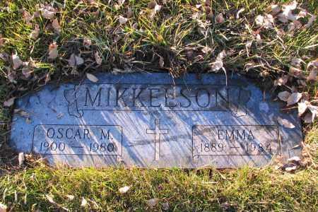 MIKKELSON, EMMA - Richland County, North Dakota | EMMA MIKKELSON - North Dakota Gravestone Photos