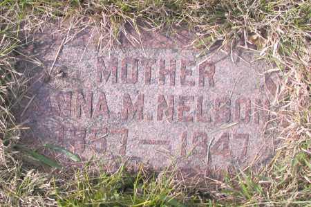 NELSON, ANNA M. - Richland County, North Dakota | ANNA M. NELSON - North Dakota Gravestone Photos
