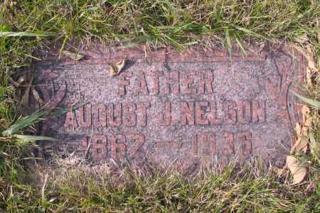 NELSON, AUGUST J. - Richland County, North Dakota | AUGUST J. NELSON - North Dakota Gravestone Photos