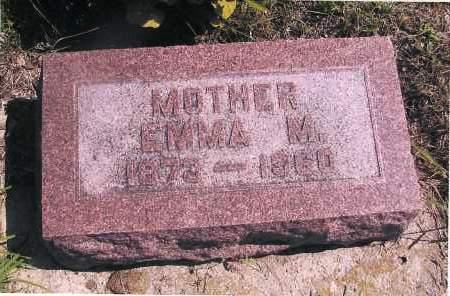 NELSON, EMMA M. - Richland County, North Dakota | EMMA M. NELSON - North Dakota Gravestone Photos