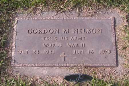 NELSON, GORDON M. - Richland County, North Dakota | GORDON M. NELSON - North Dakota Gravestone Photos