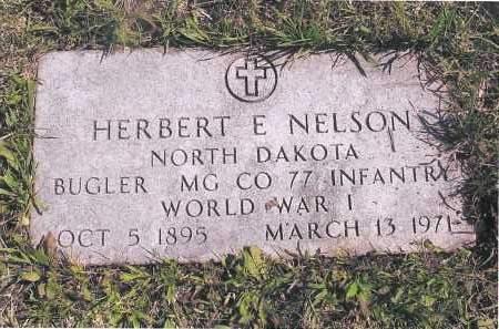 NELSON, HERBERT E. - Richland County, North Dakota | HERBERT E. NELSON - North Dakota Gravestone Photos