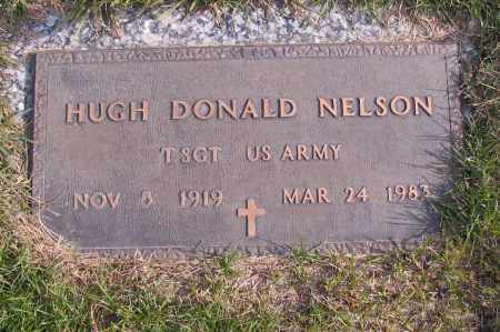 NELSON, HUGH DONALD - Richland County, North Dakota | HUGH DONALD NELSON - North Dakota Gravestone Photos