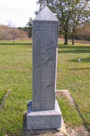 NELSON, INGBORG ANNA - Richland County, North Dakota | INGBORG ANNA NELSON - North Dakota Gravestone Photos