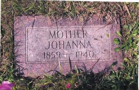 NELSON, JOHANNA - Richland County, North Dakota | JOHANNA NELSON - North Dakota Gravestone Photos