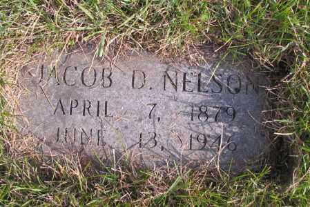 NELSON, JACOB D. - Richland County, North Dakota | JACOB D. NELSON - North Dakota Gravestone Photos