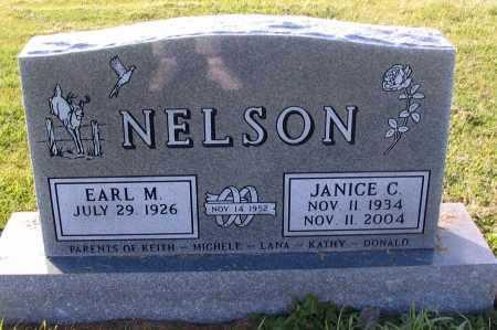 NELSON, JANICE C. - Richland County, North Dakota   JANICE C. NELSON - North Dakota Gravestone Photos