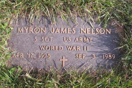NELSON, MYRON JAMES - Richland County, North Dakota | MYRON JAMES NELSON - North Dakota Gravestone Photos
