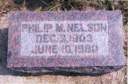 NELSON, PHILIP M. - Richland County, North Dakota | PHILIP M. NELSON - North Dakota Gravestone Photos