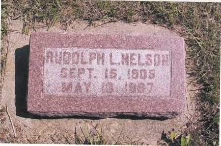 NELSON, RUDOLPH L. - Richland County, North Dakota | RUDOLPH L. NELSON - North Dakota Gravestone Photos