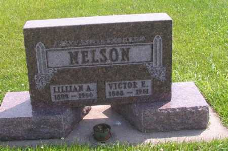 NELSON, VICTOR E. - Richland County, North Dakota | VICTOR E. NELSON - North Dakota Gravestone Photos