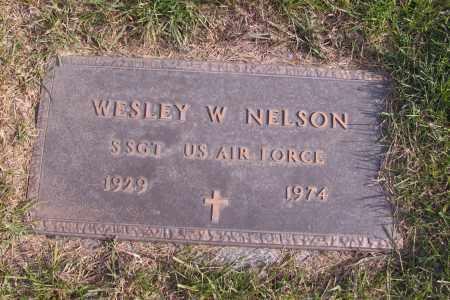 NELSON, WESLEY W. - Richland County, North Dakota | WESLEY W. NELSON - North Dakota Gravestone Photos