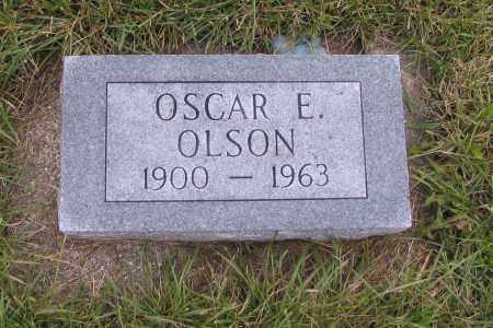 OLSON, OSCAR E. - Richland County, North Dakota | OSCAR E. OLSON - North Dakota Gravestone Photos