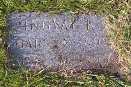 OTTESON, INGVAL K. - Richland County, North Dakota   INGVAL K. OTTESON - North Dakota Gravestone Photos