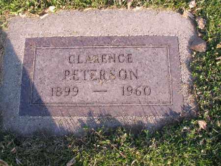 PETERSON, CLARENCE - Richland County, North Dakota | CLARENCE PETERSON - North Dakota Gravestone Photos
