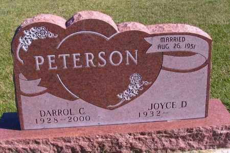 PETERSON, DARROL C. - Richland County, North Dakota | DARROL C. PETERSON - North Dakota Gravestone Photos