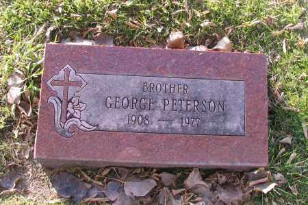 PETERSON, GEORGE - Richland County, North Dakota   GEORGE PETERSON - North Dakota Gravestone Photos