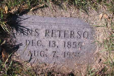 PETERSON, HANS - Richland County, North Dakota   HANS PETERSON - North Dakota Gravestone Photos