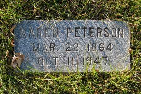 PETERSON, KAREN - Richland County, North Dakota | KAREN PETERSON - North Dakota Gravestone Photos