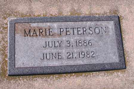PETERSON, MARIE - Richland County, North Dakota | MARIE PETERSON - North Dakota Gravestone Photos