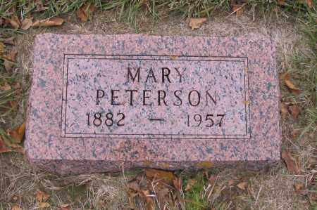 PETERSON, MARY - Richland County, North Dakota | MARY PETERSON - North Dakota Gravestone Photos