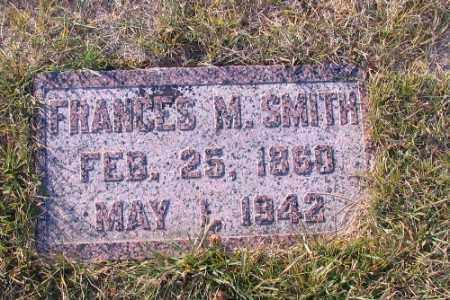 SMITH, FRANCES M. - Richland County, North Dakota | FRANCES M. SMITH - North Dakota Gravestone Photos