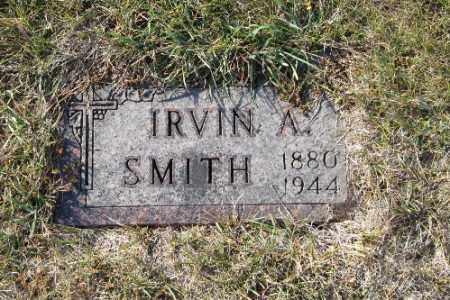 SMITH, IRVIN A. - Richland County, North Dakota   IRVIN A. SMITH - North Dakota Gravestone Photos