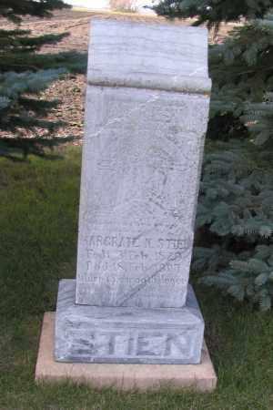 STIEN, MARGRATE - Richland County, North Dakota | MARGRATE STIEN - North Dakota Gravestone Photos