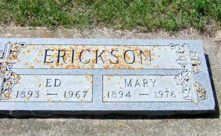 ERICKSON, ED - Rolette County, North Dakota | ED ERICKSON - North Dakota Gravestone Photos