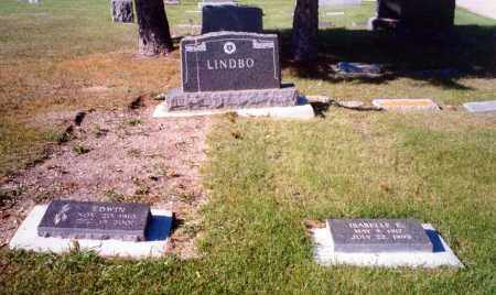 LINDBO, ISABELLE - Rolette County, North Dakota | ISABELLE LINDBO - North Dakota Gravestone Photos