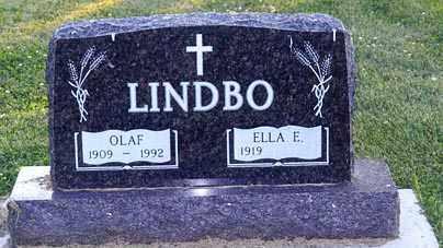 LINDBO, OLAF - Rolette County, North Dakota | OLAF LINDBO - North Dakota Gravestone Photos