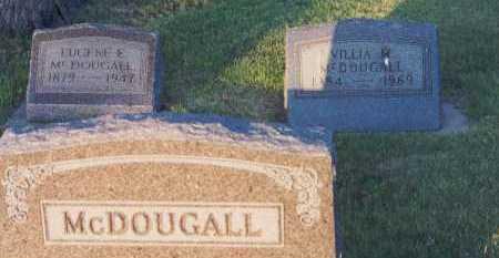 MURDICK MCDOUGALL, VILLIA - Rolette County, North Dakota | VILLIA MURDICK MCDOUGALL - North Dakota Gravestone Photos