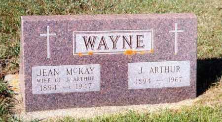 MCKAY WAYNE, JEAN - Rolette County, North Dakota | JEAN MCKAY WAYNE - North Dakota Gravestone Photos